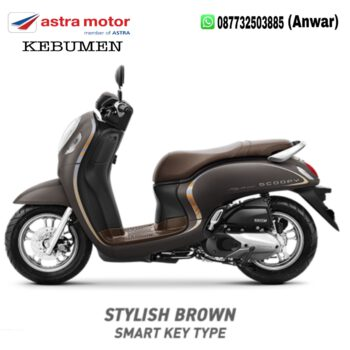All New Scoopy eSP